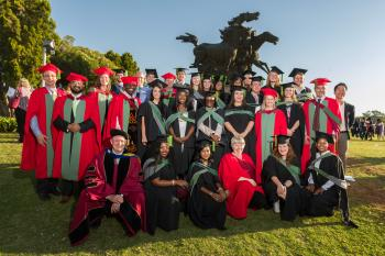 FABI excellence shines through at UP's Autumn Graduations