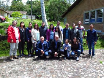 Meeting to develop a  national forestry Protection Program for Colombia