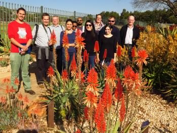 FABIans take in spectacle of aloes in full bloom