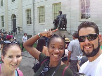 "ICPP brings ""Wicked Smaht"" people to Boston: a FABI student perspective"