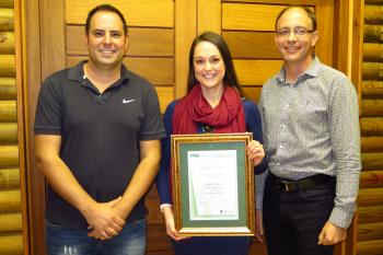 Danielle Roodt successfully defends her PhD thesis