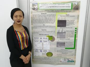 FABI student wins best poster prize at SANSOR congress