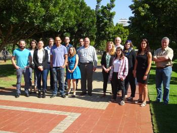 French Researchers in South Africa meet in FABI