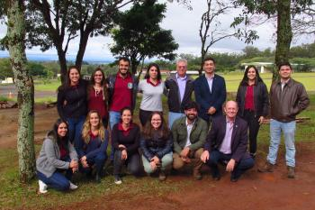 Developing collaboration with colleagues at UNESP Brazil