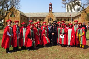 Fourteen FABIans capped at the 2019 Spring Graduation Ceremony