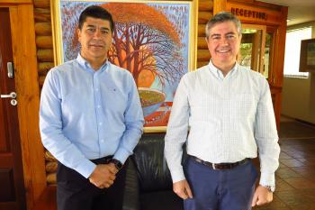 Chilean Forestry Delegation visits FABI