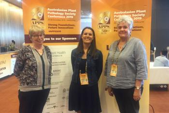 FABIans present at the Australasian Plant Pathology Society conference