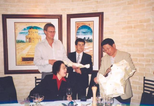Former president of the Chinese Academy of Forestry, Madam ZeHui Jiang's visit to SA where FABI linkage was also forged.